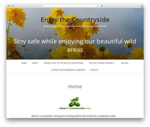 WP template Gateway - WordPress.com - enjoythecountryside.com