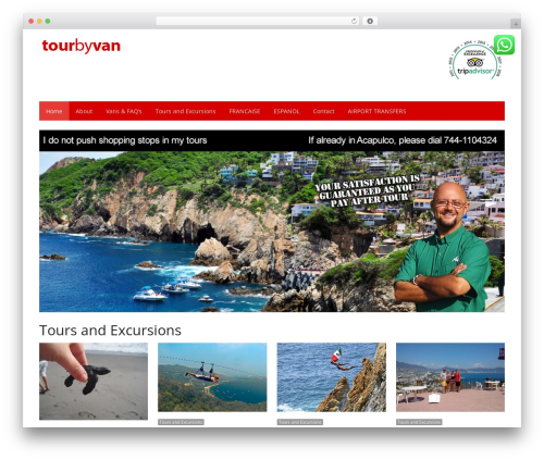 Best WordPress theme NewsPlus - tourbyvan.com