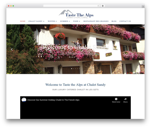 WordPress otw-blog-manager plugin - taste-the-alps.com