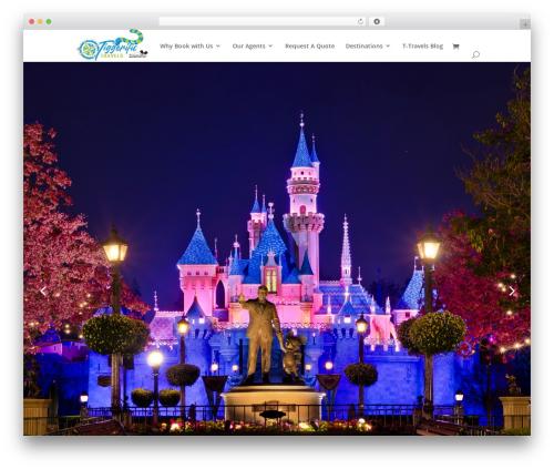 Divi WordPress travel theme - tiggerifictravels.com