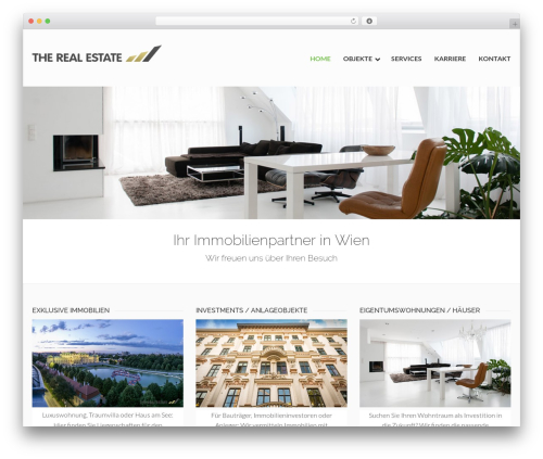 DynamiX best real estate website - therealestate.at