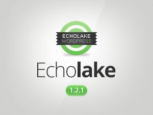 Echolake WordPress blog template