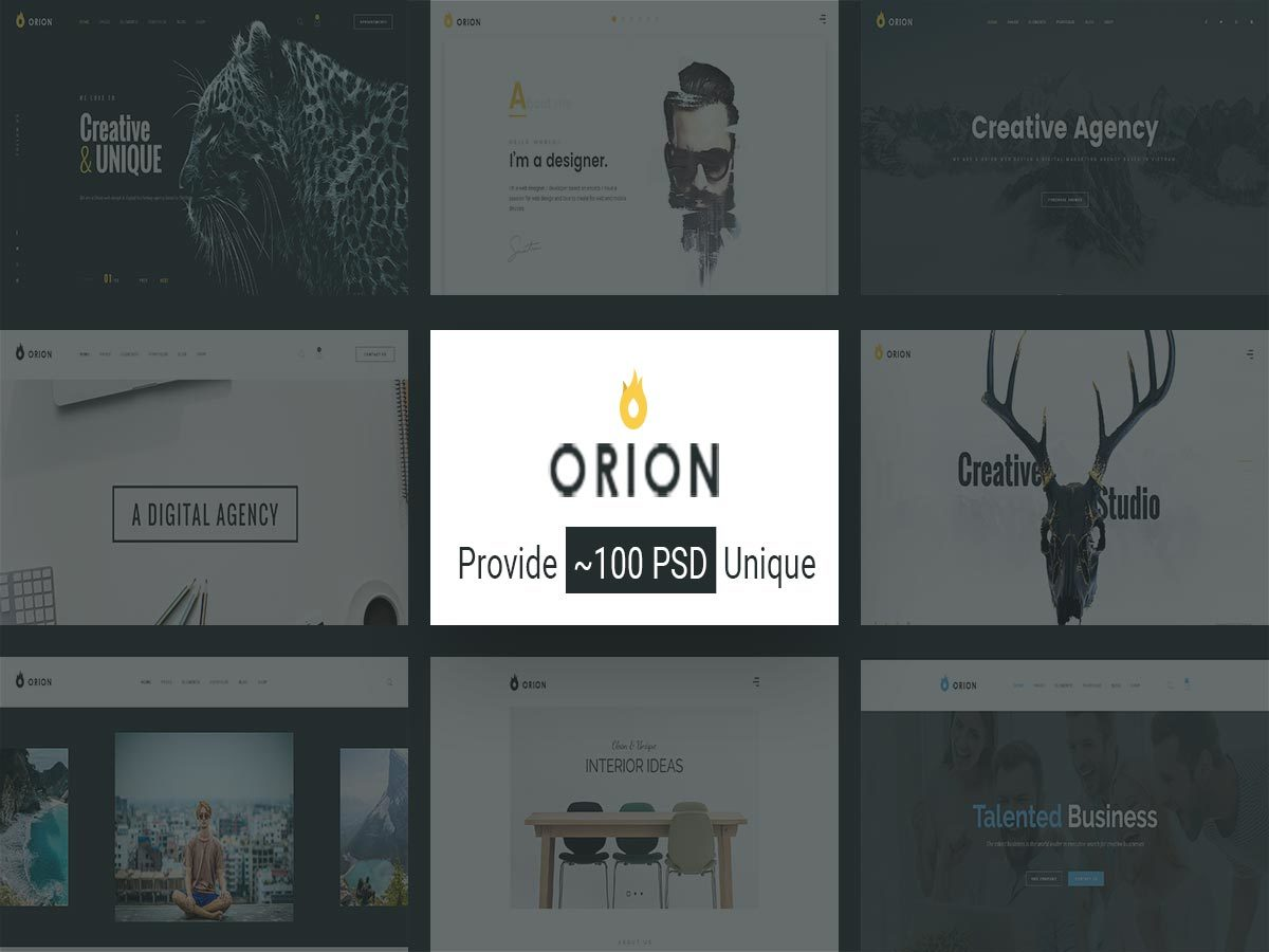 G5Plus Orion WordPress store theme
