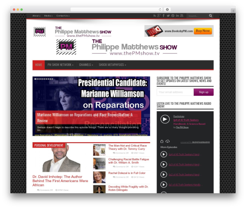 Jarida WordPress theme - thepmshow.info