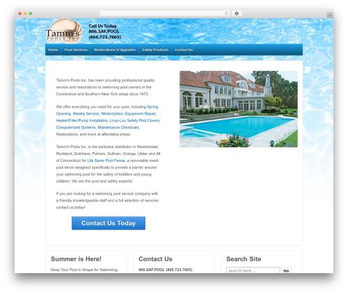 Responsive WordPress free download - tammspoolservice.com