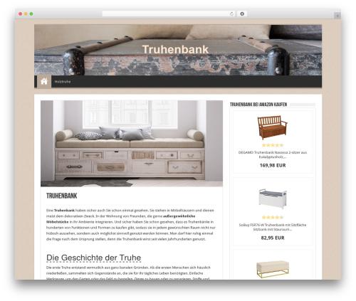 Sahifa WordPress website template - truhenbank.co