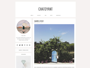 Template WordPress chatoyant