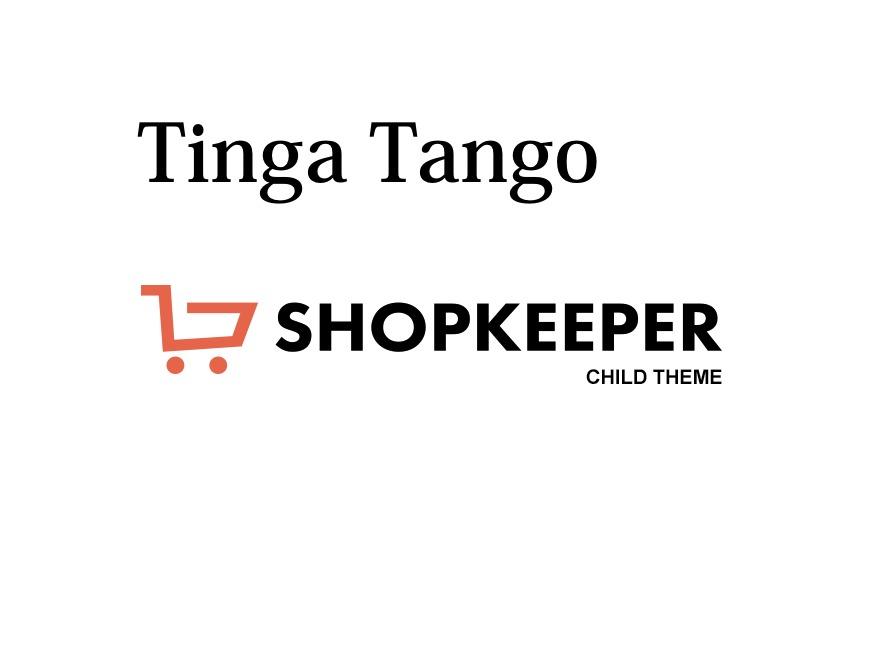 Tinga Tango (Shopkeeper Child) WordPress shop theme
