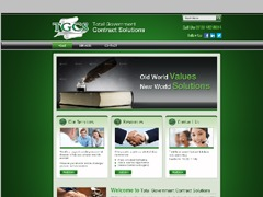 Total Government Contract Solutions top WordPress theme