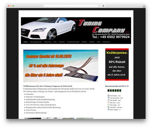 Twenty Ten free website theme - tuning-company.com
