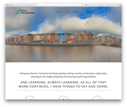 WordPress website template Namo - thisisfionajackson.com