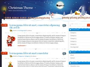 Xmas Theme WordPress template