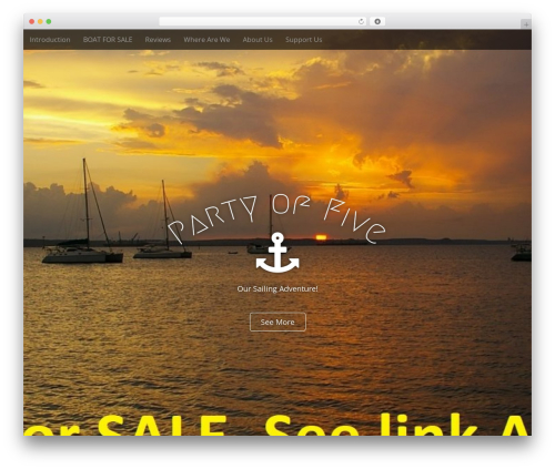 Arcade Basic free WP theme - svpartyoffive.com