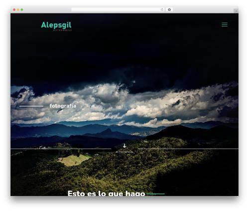 Betheme best WordPress template - alepsgil.com