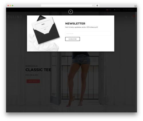 DMCS WordPress theme design - rulino.com