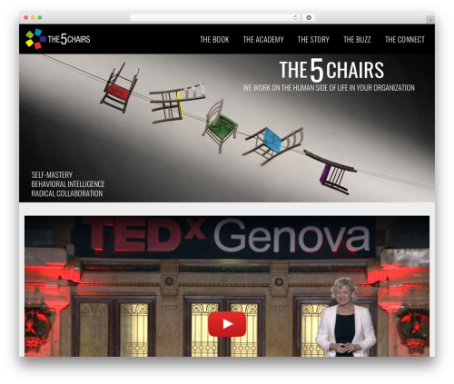 Veda best WordPress theme - the5chairs.com