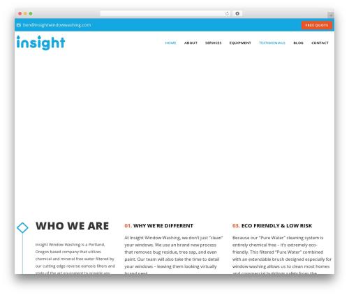 WordPress theme Veda - insightwindowwashing.com