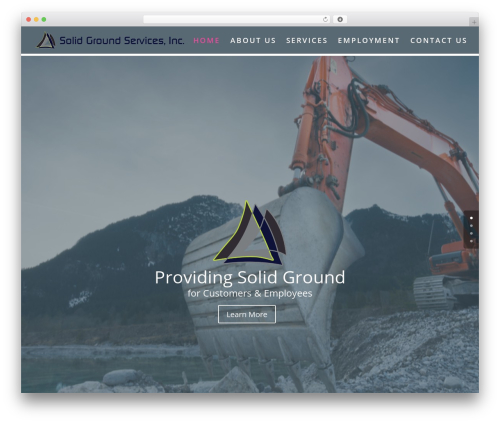 WP template Divi - solidgroundcorp.com