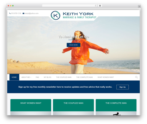 Best WordPress theme PremierPro - keithyork.com