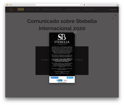 Vivian WordPress shopping theme - stebella.com