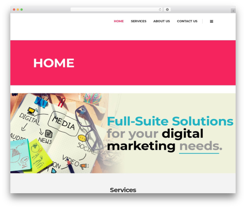 Pitch WordPress theme - win-digitalmarketing.com