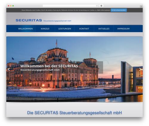 WP template Beaver Builder Theme - securitas-berlin.com