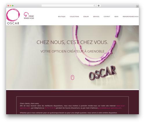 Auxane Opticiens theme WordPress - oscar-opticiens-grenoble.com