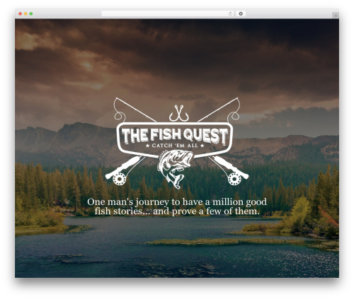 Matty WordPress theme - thefishquest.com