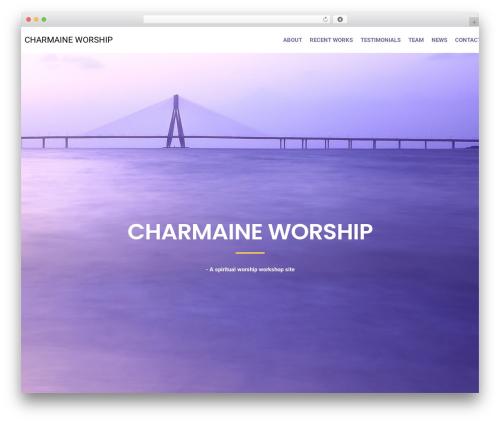 Miles Lite WordPress store theme - charmaineworship.com