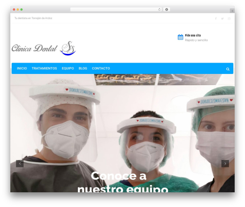 Theme WordPress Dental Care - clinicadentalsys.com