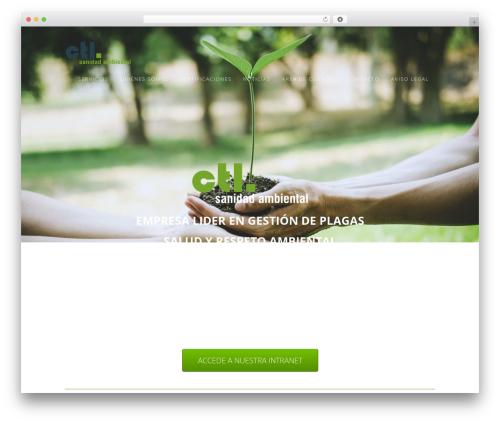 WordPress theme Aspire Pro - ctl-plagas.com