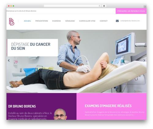 Health and Medical medical WordPress theme - docteur-borens.com