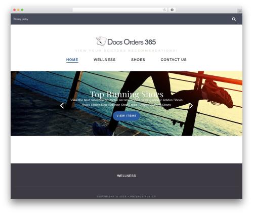 Kustrix WordPress theme - docsorders365.com