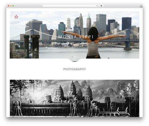 Narcos WordPress photo theme - monialippi.com