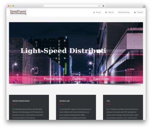 Palas WordPress theme - brandpowerindia.com
