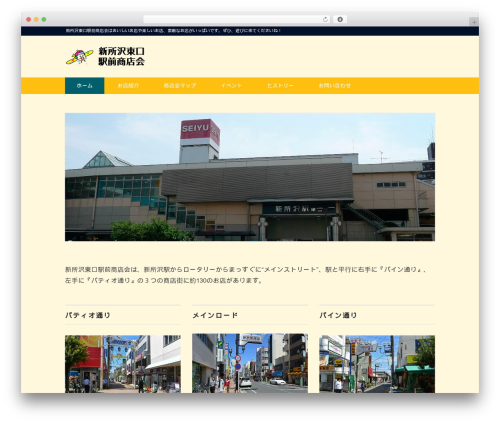 Best WordPress template Black Studio - shintoko-higashiguti.com