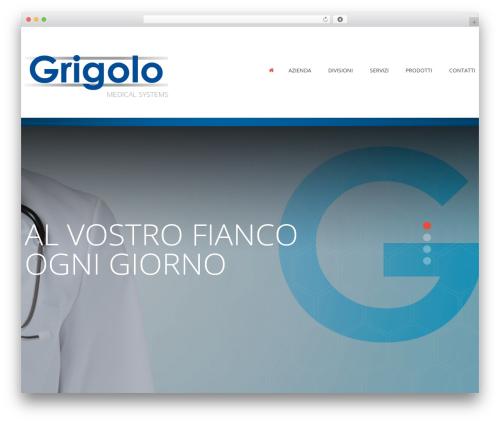 cherry medical WordPress theme - grigolosrl.com