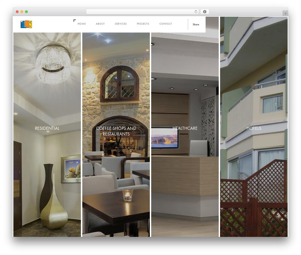 Domik premium WordPress theme - elisinteriorarchitect.com