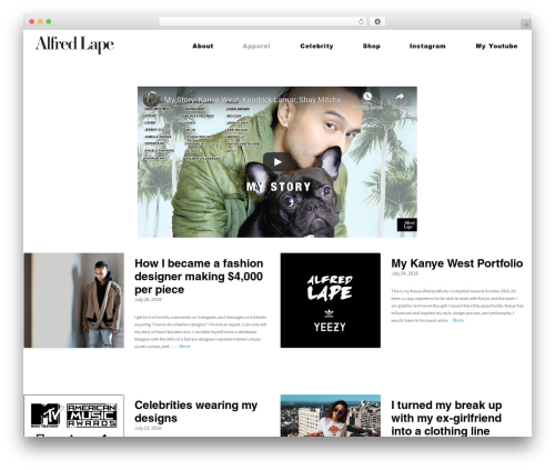 Gateway - WordPress.com premium WordPress theme - alfredlape.com