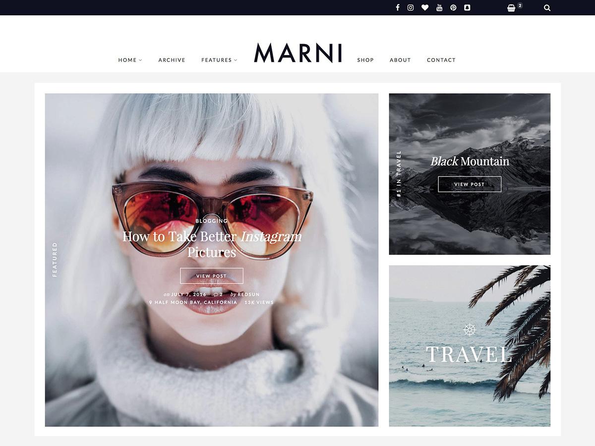 Marni WP theme