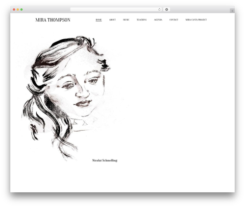 Theme WordPress Beau - mirathompson.com