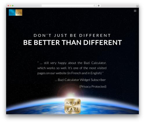 Themify Ultra WordPress theme design - blueearthdevelopment.com