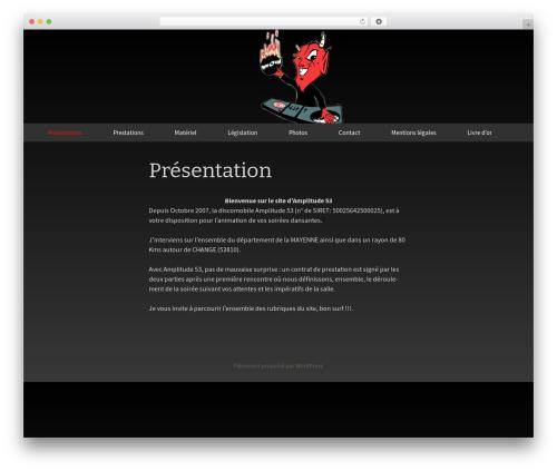 Twenty Thirteen WordPress template free download - amplitude-53.com