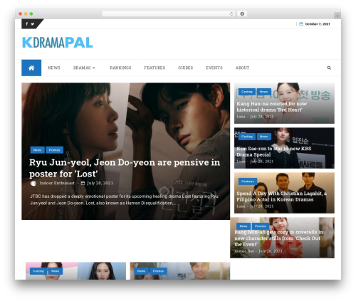 WordPress theme bFastMagPro-child - kdramapal.com