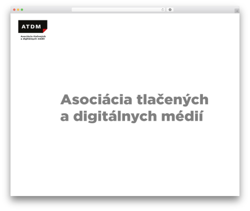 Best WordPress template Skylar - vydavatelia.sk