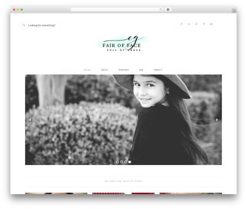 Bloom Theme WordPress theme - fairoffacefullofgrace.com