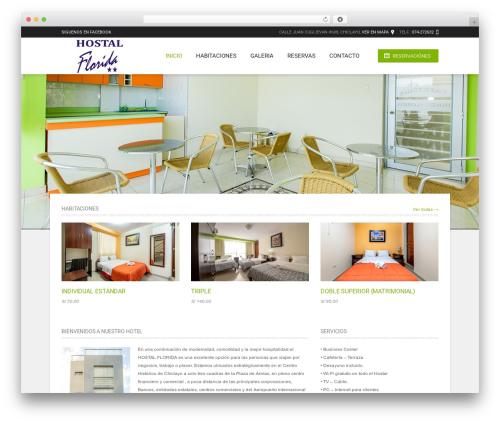 Hotec best WordPress template - floridahostal.com