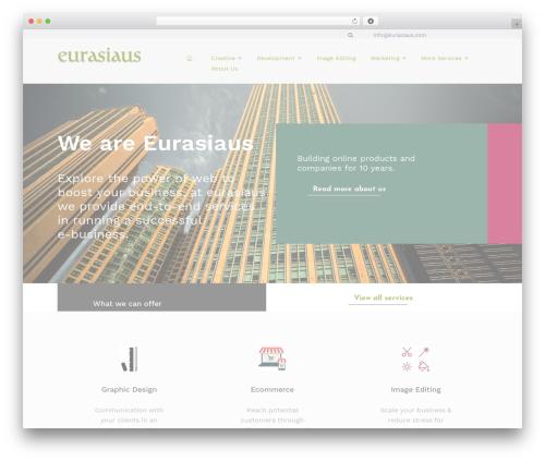 Kira Lite business WordPress theme - eurasiaus.com