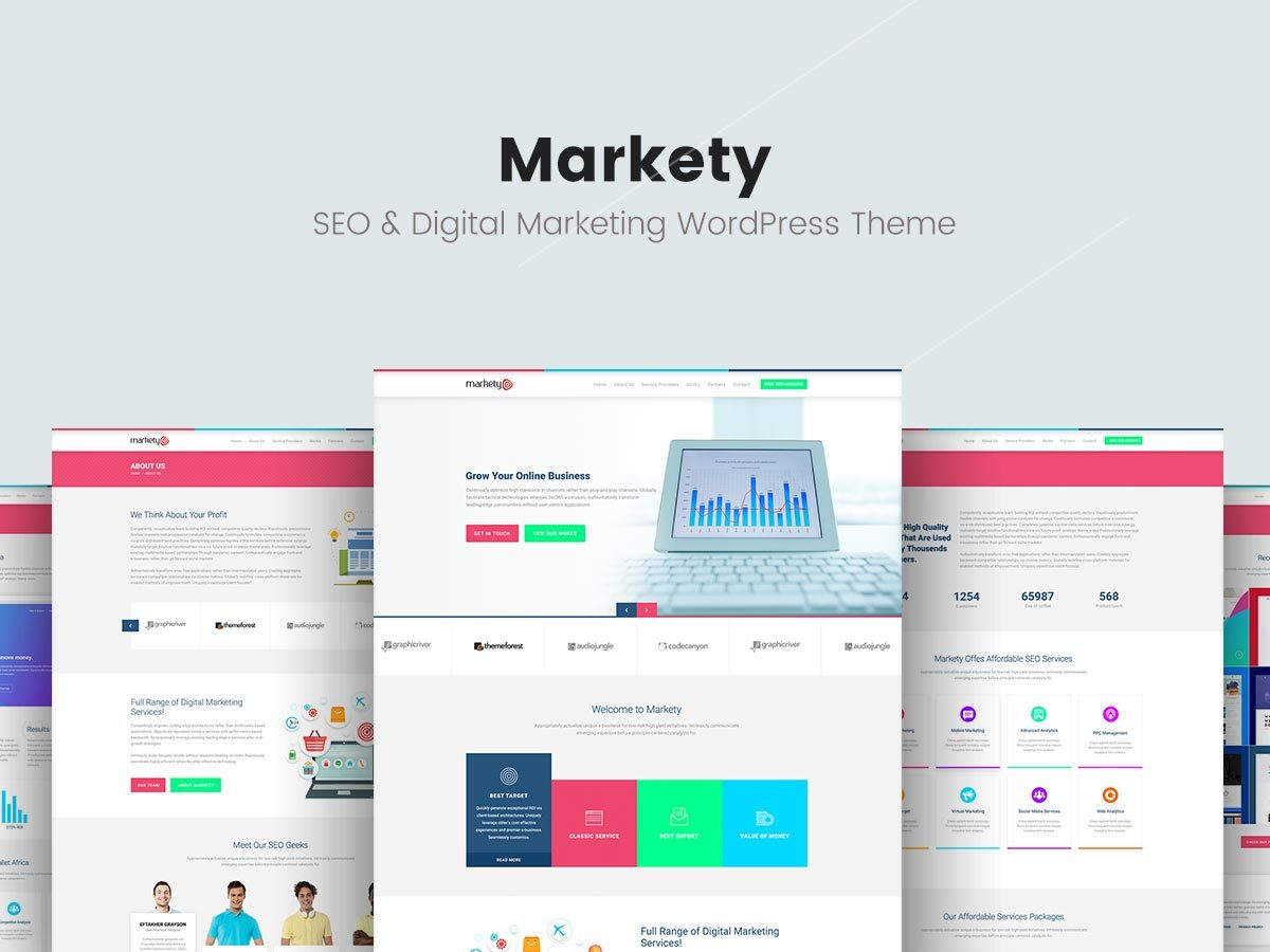 markety kingstheme com wordpress theme by trendytheme