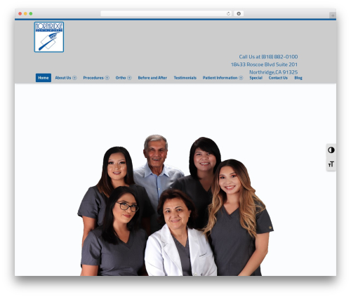 Polyclinic WordPress theme - ndentalworks.com